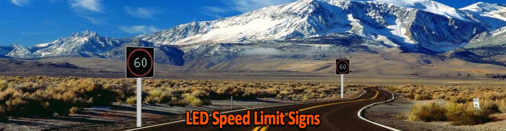 Voxson LED Speed Signs