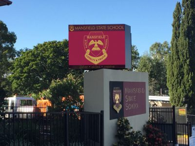 Mansfield State School - Mansfield - Double Sided LED Sign