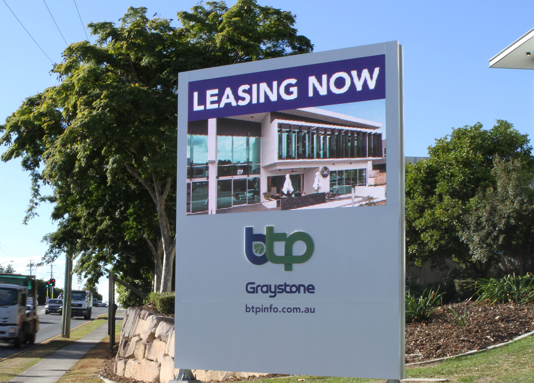 Brisbane Technology Park LED Sign - Eight Mile Plains