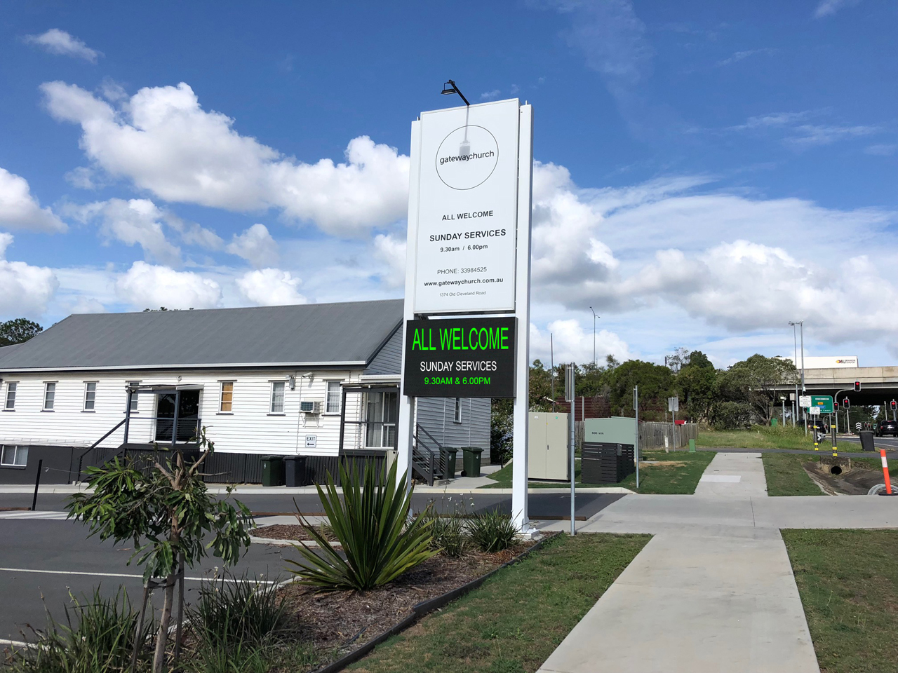 Gateway Church - Carindale - Double Sided LED Sign