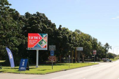 Mackay Council Pylon Sign - Col Story Rotary Park