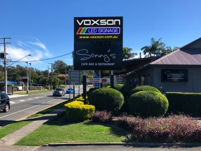 The Nook - Jindalee - Double Sided LED Sign