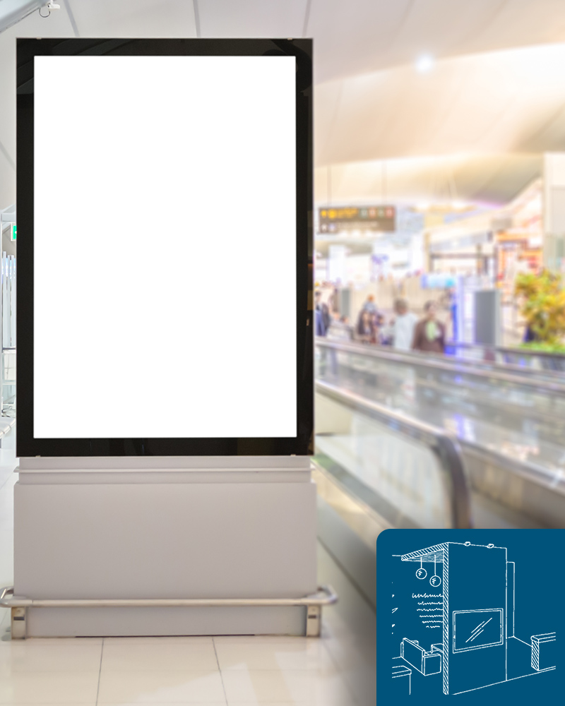 Commercial LCD Displays