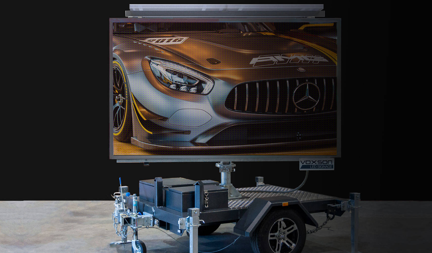 LED Screen Sign for Hire or to Buy - Voxson