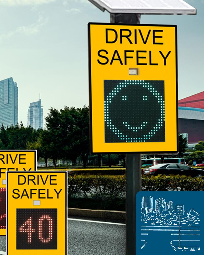 Mobile Radar Signs & Traffic LED Signs