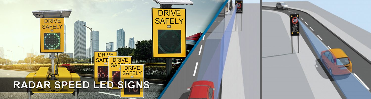 Radar Speed LED Signs from Voxson