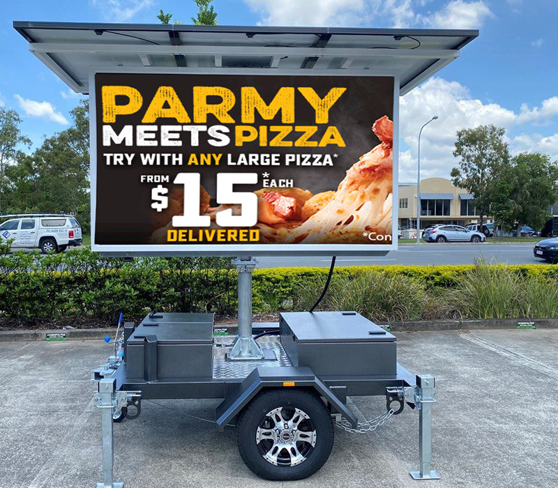 V4s Mobile LED Signs Screens from Voxson