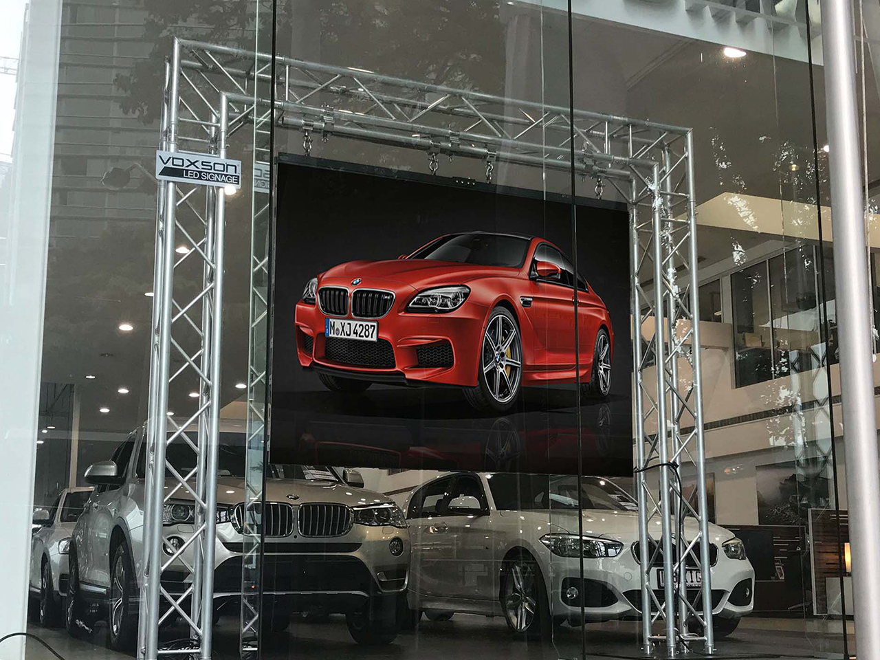BMW In-Window Display – Indoor LED Sign