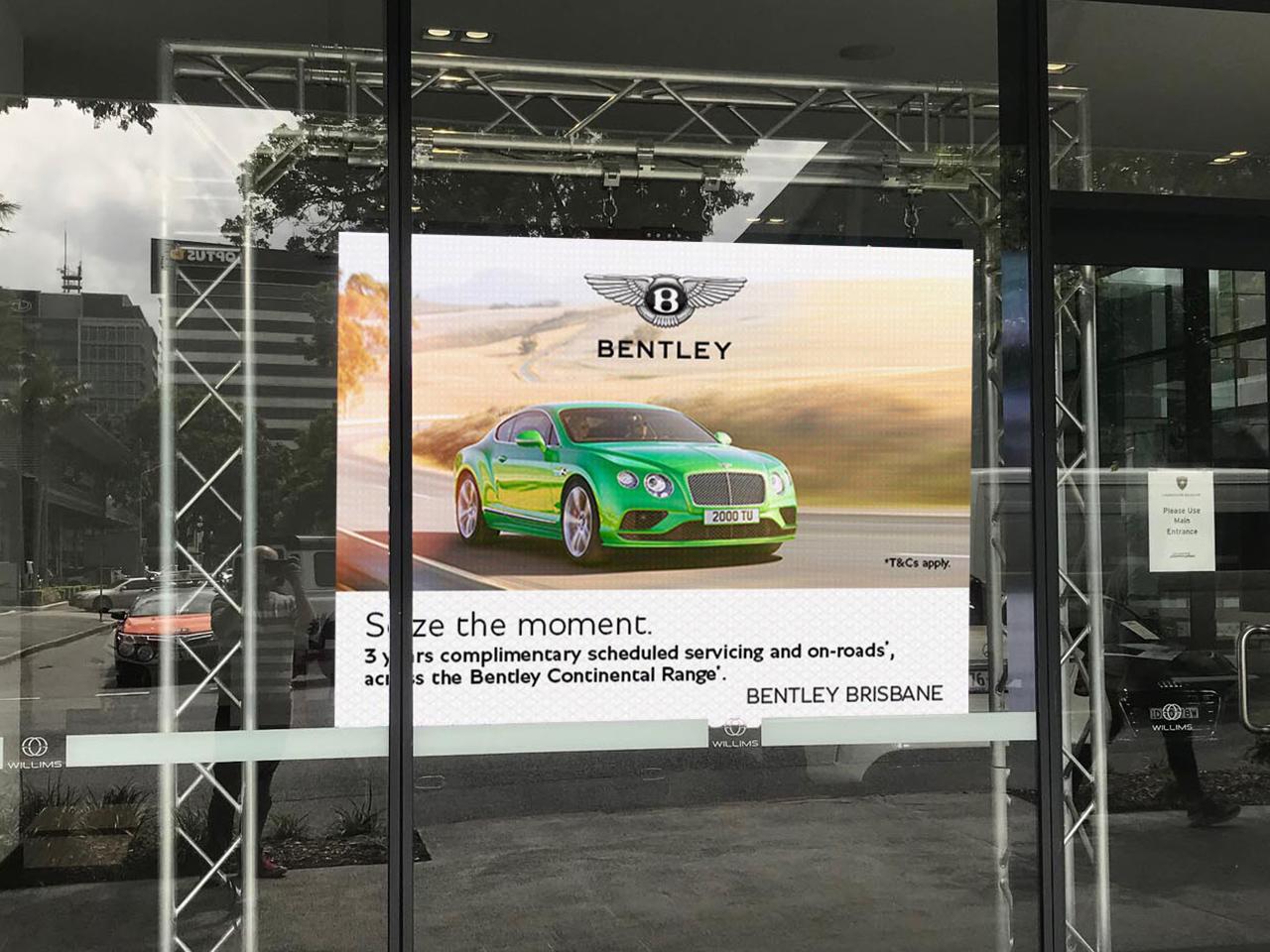 Lamborghini Centre Brisbane – Indoor LED Screen