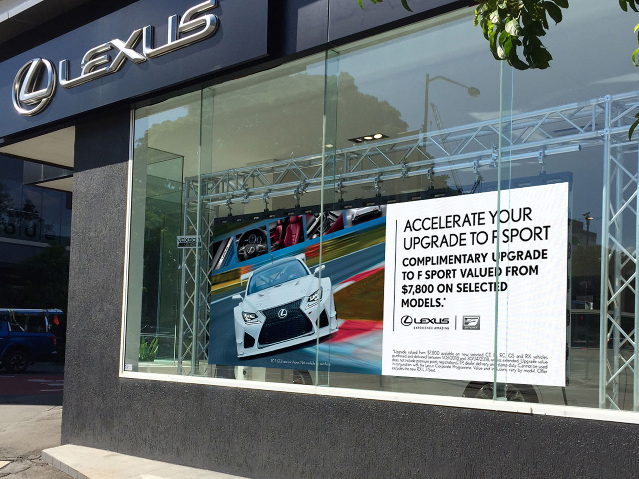 Lexus of Brisbane Fortitude Valley – Indoor LED Sign
