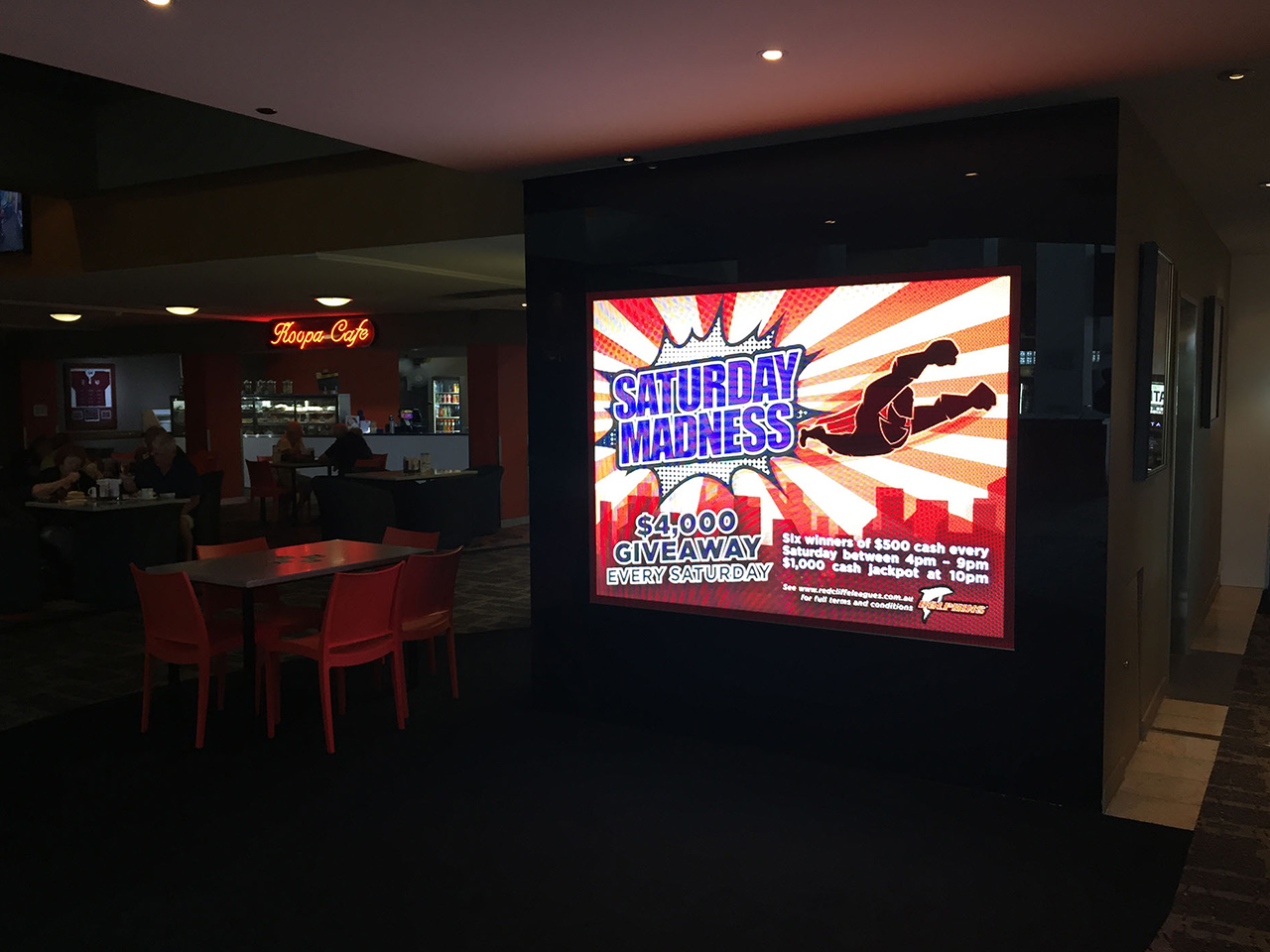 Anytime Fitness Bulimba – Indoor LED Sign