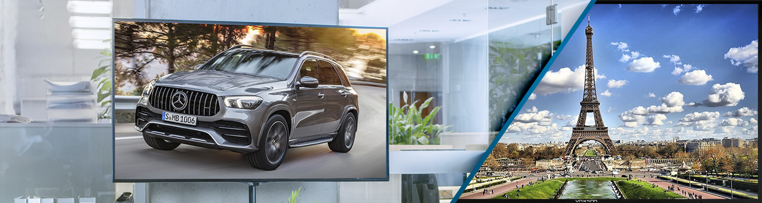 Commercial LCD Displays from Voxson