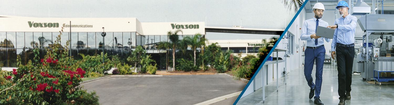 Voxson's Company History