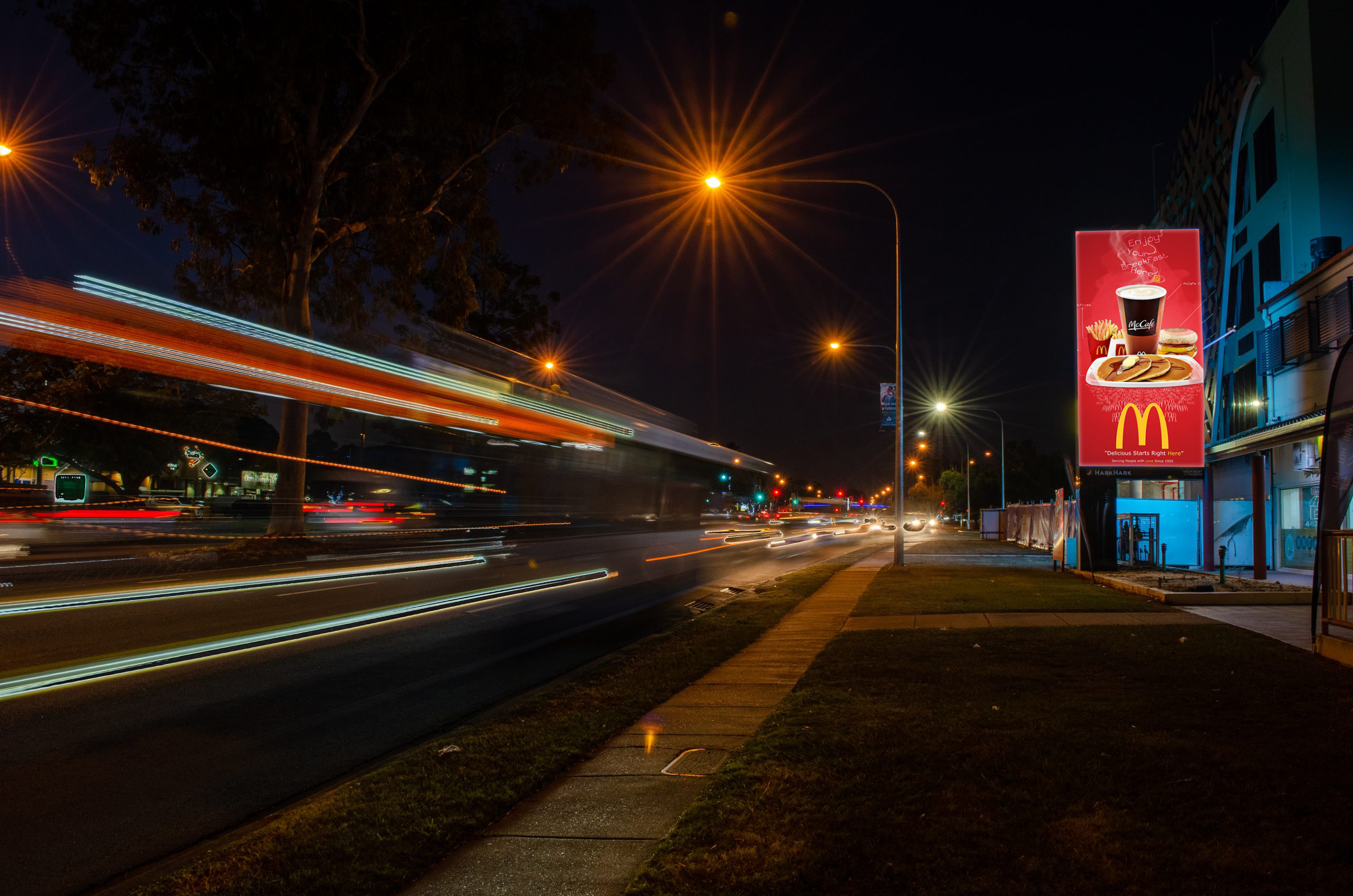 Outdoor LED Signs Voxson 317 Mains Rd Sunnybank