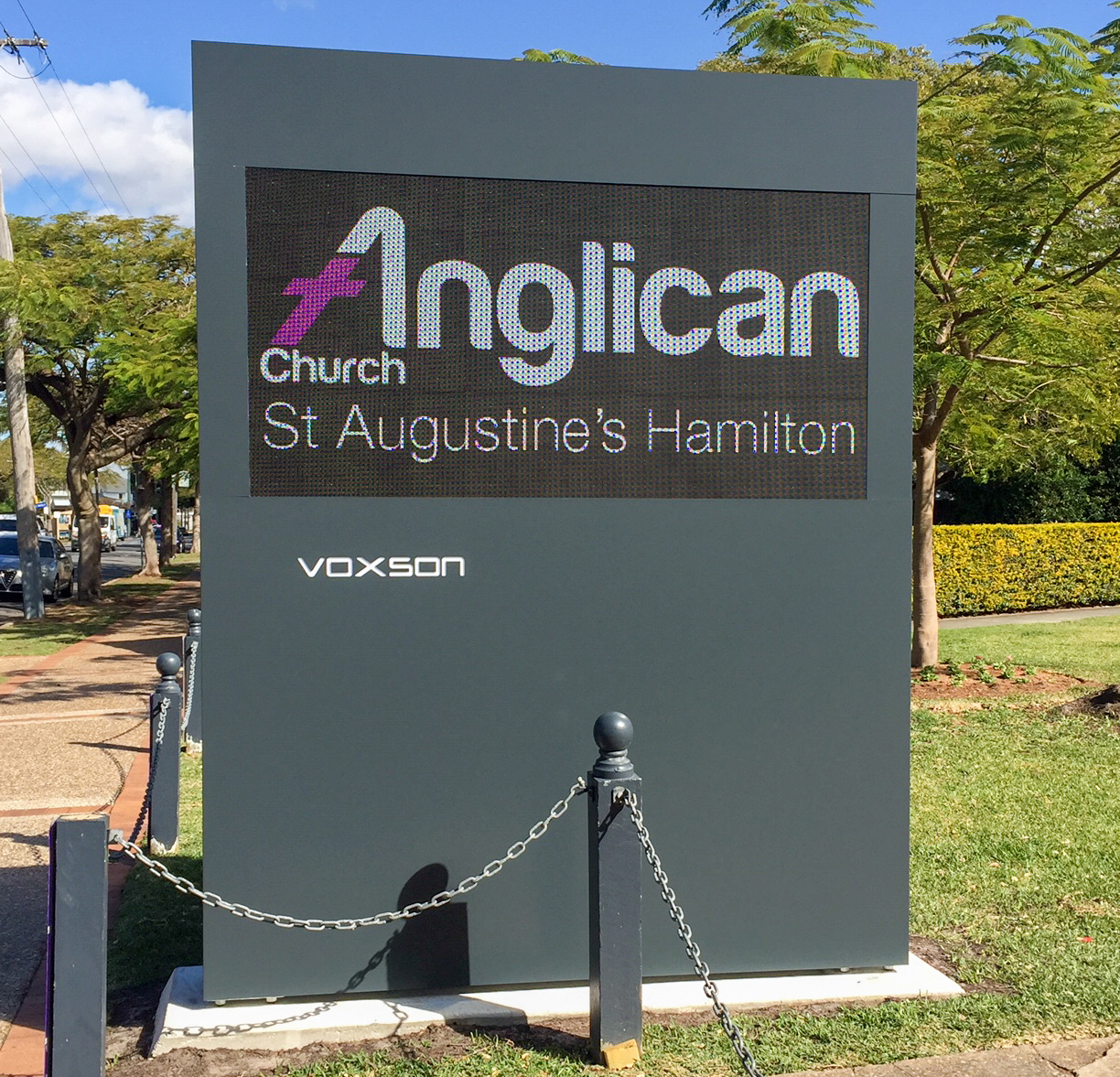 Voxson Outdoor LED Sign - Saint Augustus Church 2