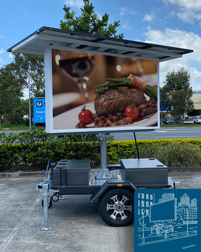 Mobile LED Signs