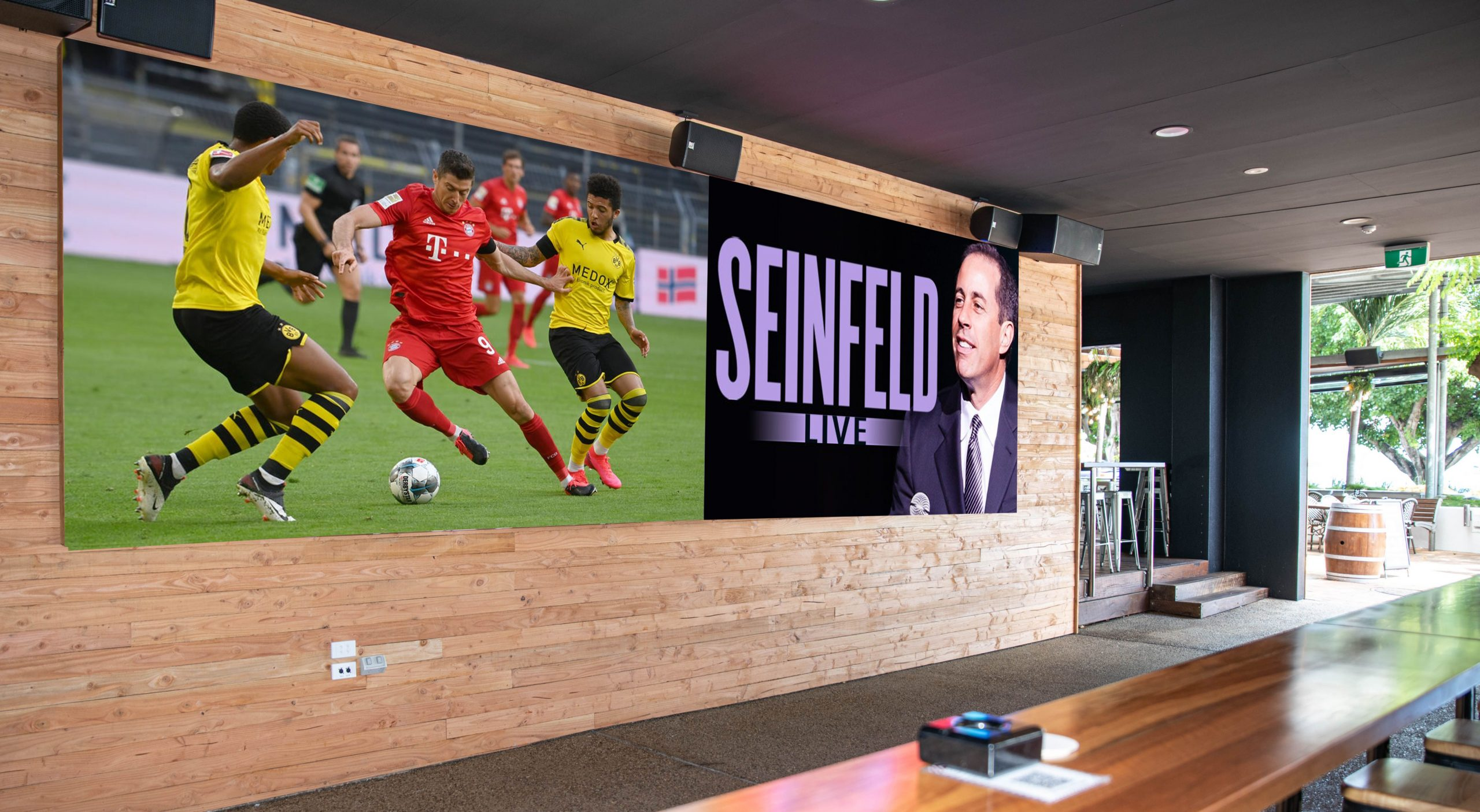 Voxson Indoor LED Signs - Airlie Beach Hotel - Bar - Big screens