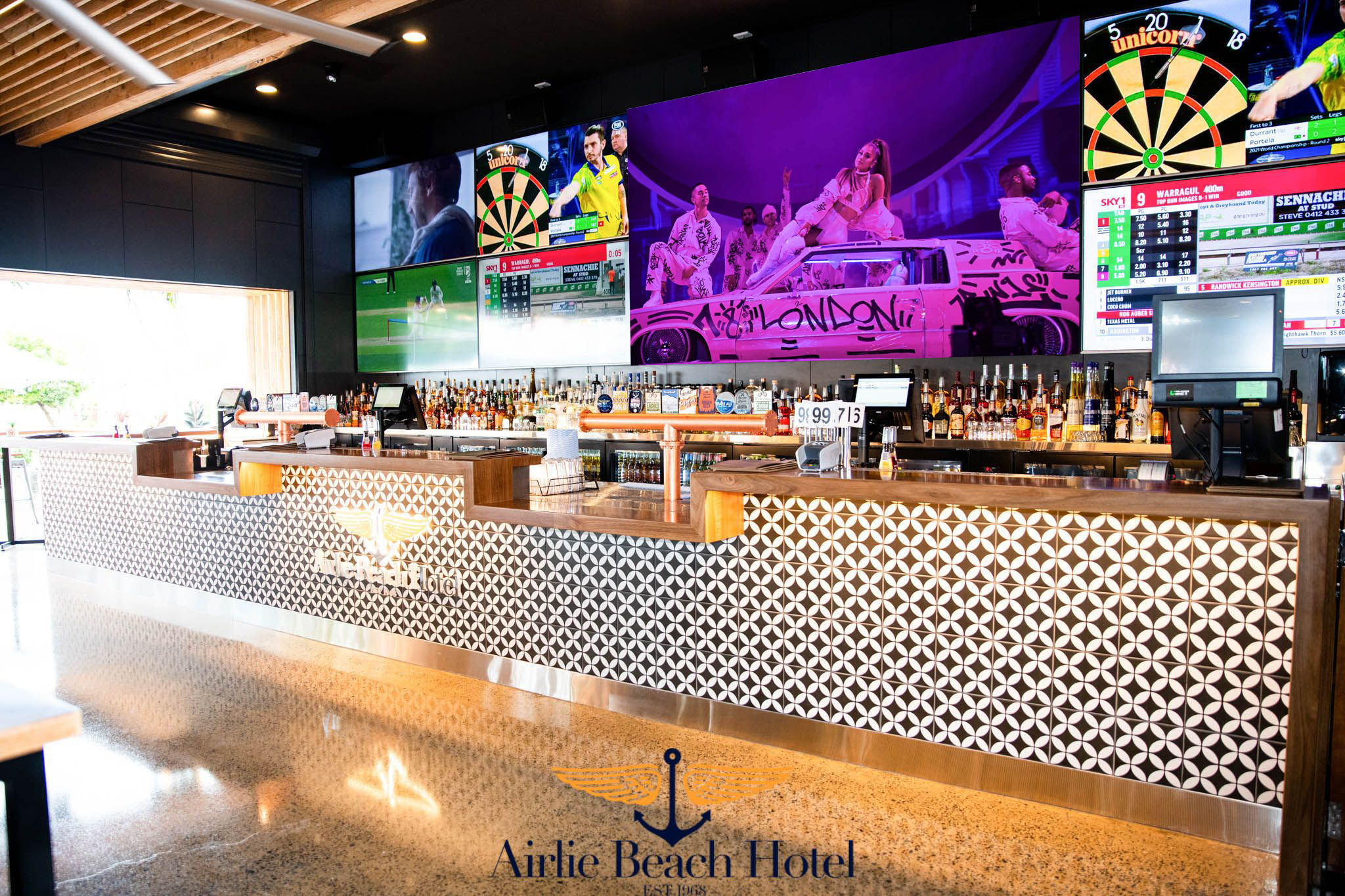 Voxson Indoor LED Signs - Airlie Beach Hotel