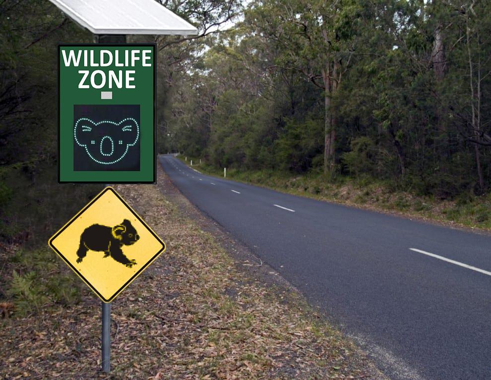 Koala Signs Wild Life Signs Smart Road Signs